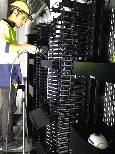 data centre cleaning