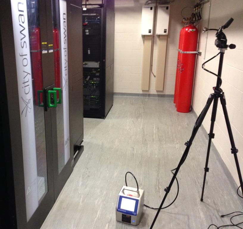 air particle iso testing data centre